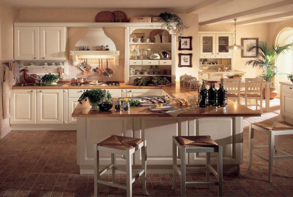 Emejing Cucine Classiche Con Isola Centrale Pictures - Ideas ...