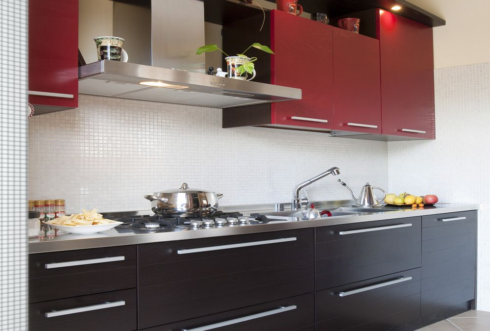 Cucine Moderne Bicolore. Finest Madia Moderna Bicolore With Cucine ...