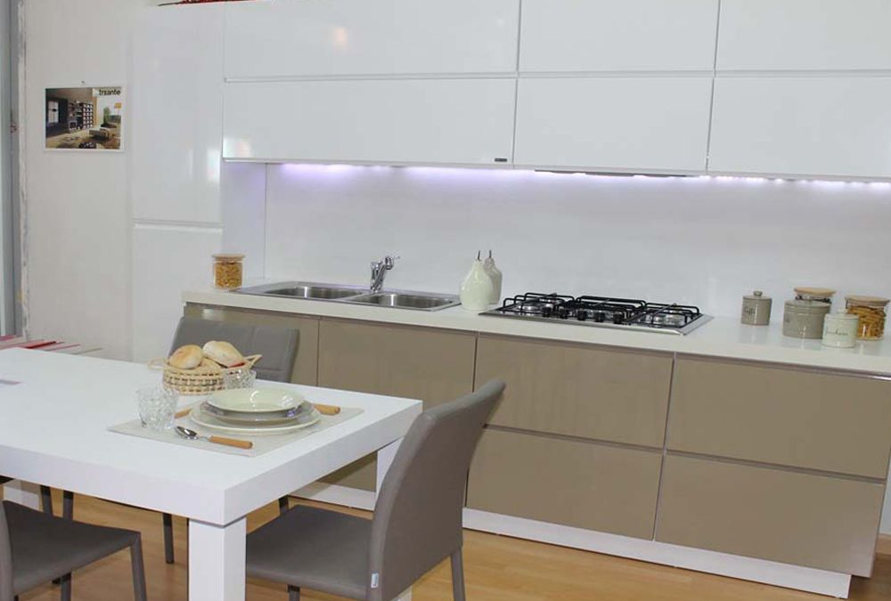 cucine moderne - treante - Cucine Moderne Bicolore